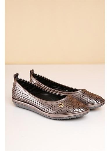 Pierre Cardin Kadın   Ayakkabı 911 Gümüş